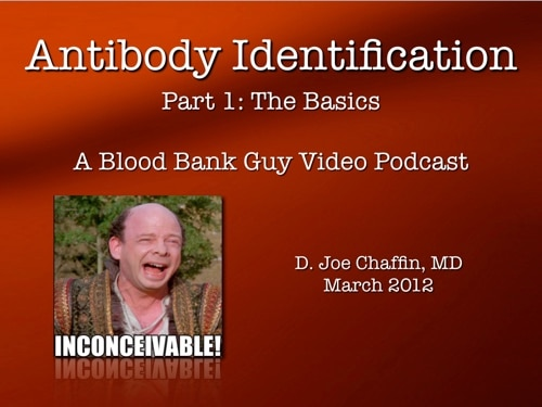 Antibody ID part 1 Cover