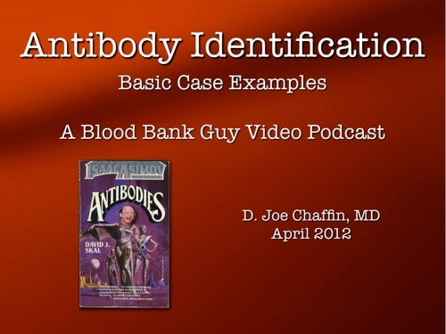 Antibody ID Part 2 Cover