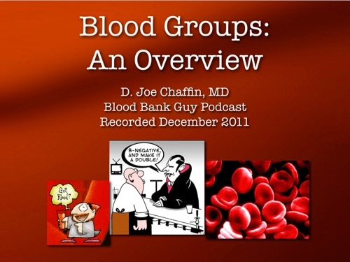 Blood Groups Cover