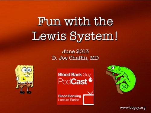Lewis System Video Cover