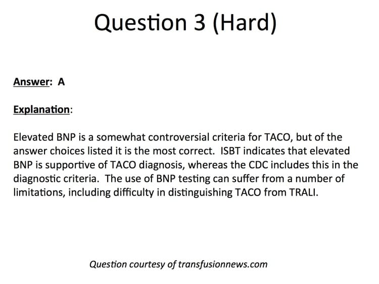 Booth Slide 14 - Question 3 Explanation
