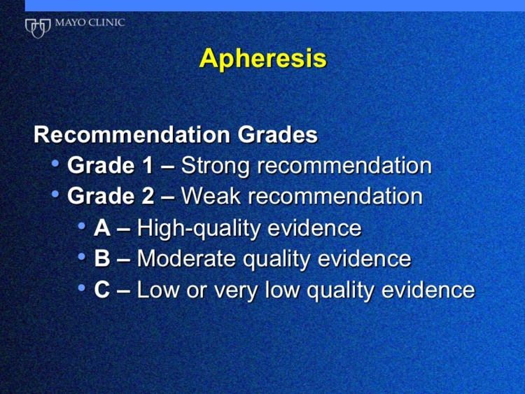 Winters Slide 11 - Recommendation grades