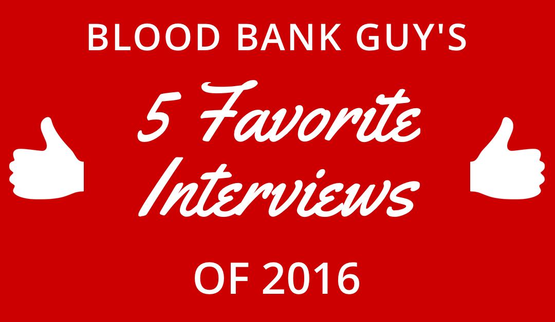My Five Favorite Interviews of 2016!