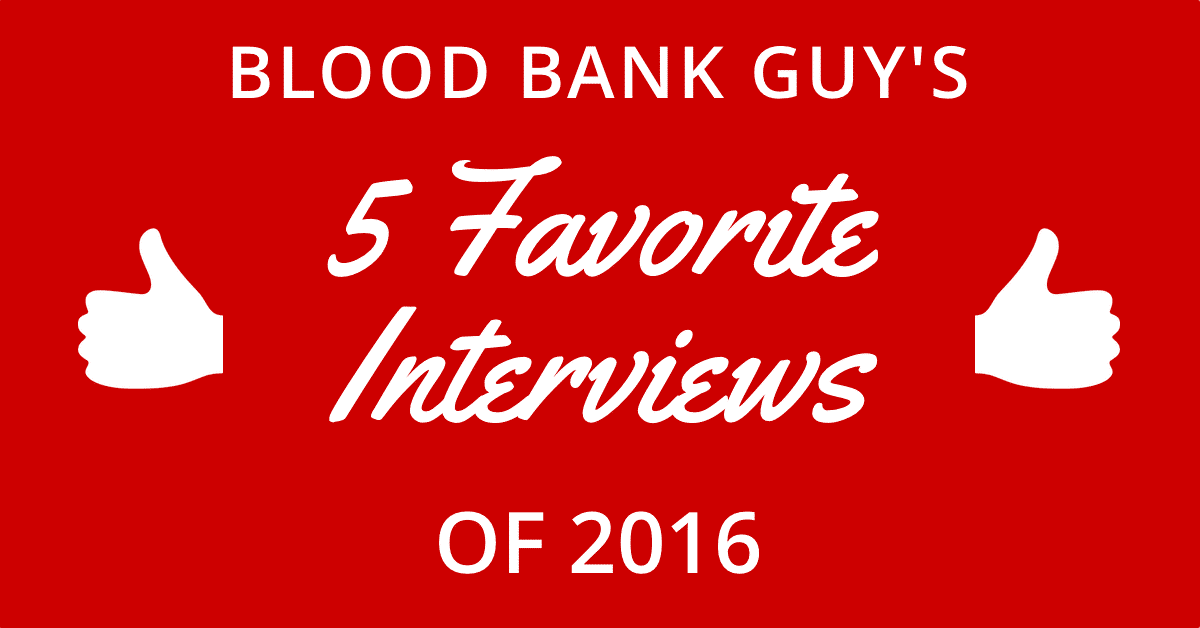 My Five Favorite Interviews of 2016!