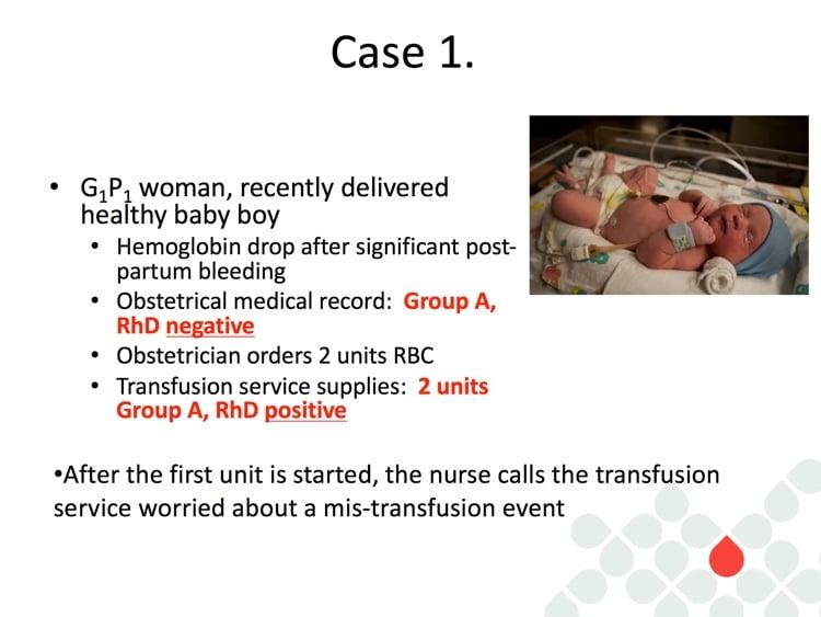 Delaney Slide 1 - Case 1 Description