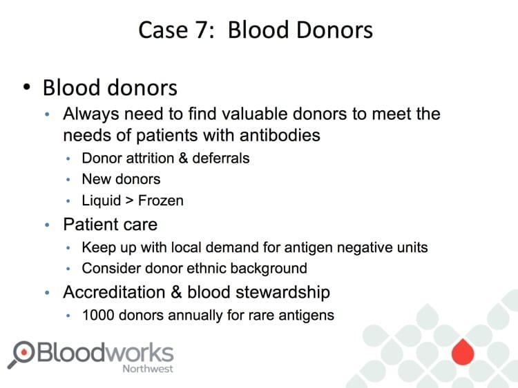 Delaney Slide 18 - Molecular testing in blood donors