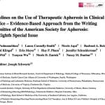 therapeutic apheresis